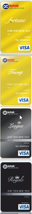 Kotak Credit Cards