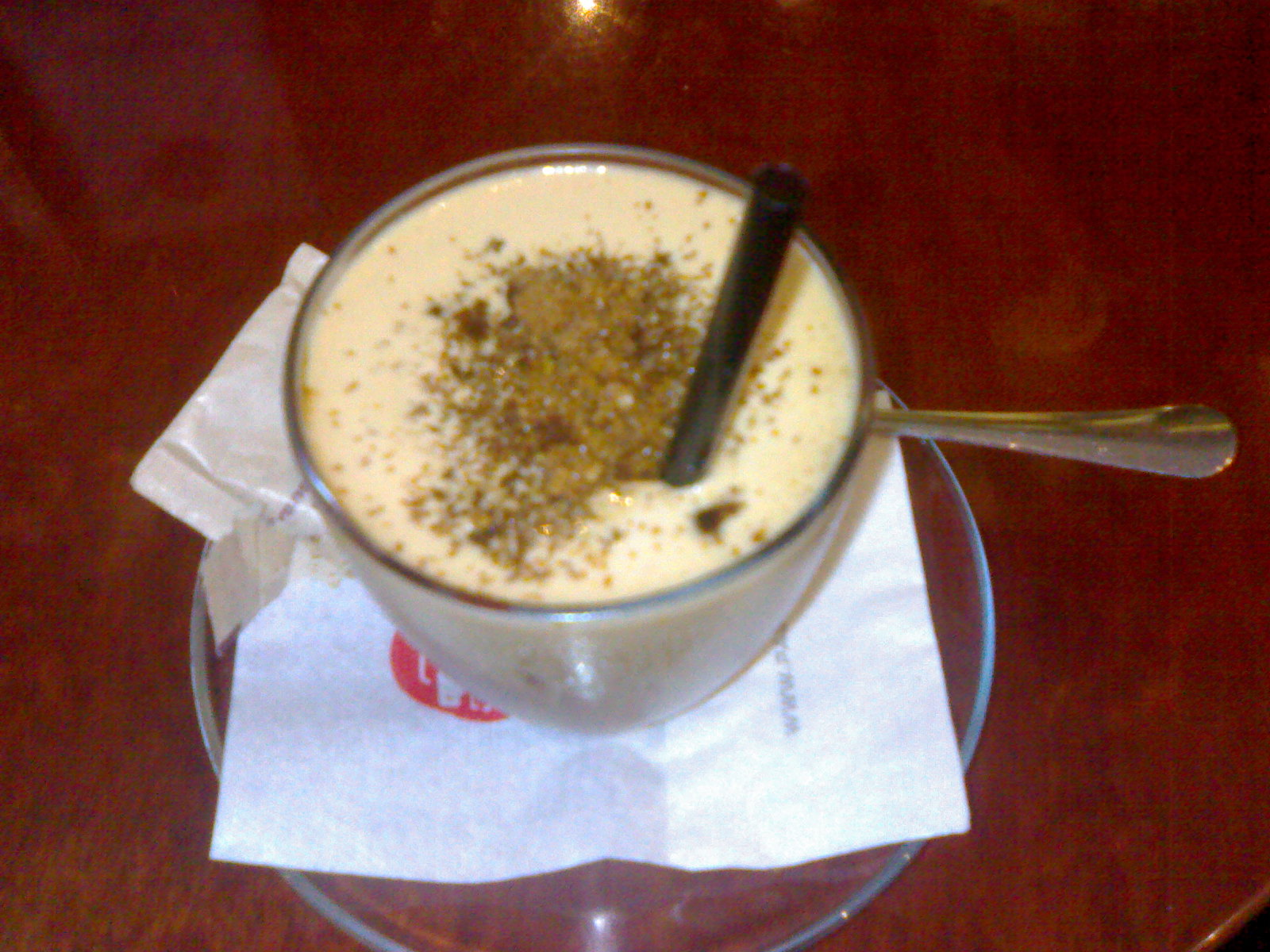 Sorbetto Al Caffe at Cafe Pascucci