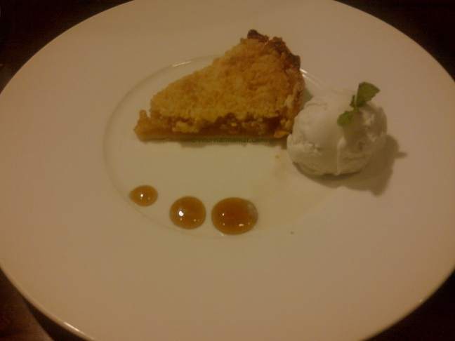 Incognito Apple Crumble