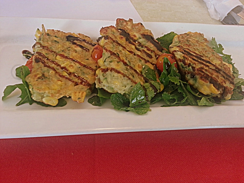 Red Fork - Corn and Zucchini Fritters