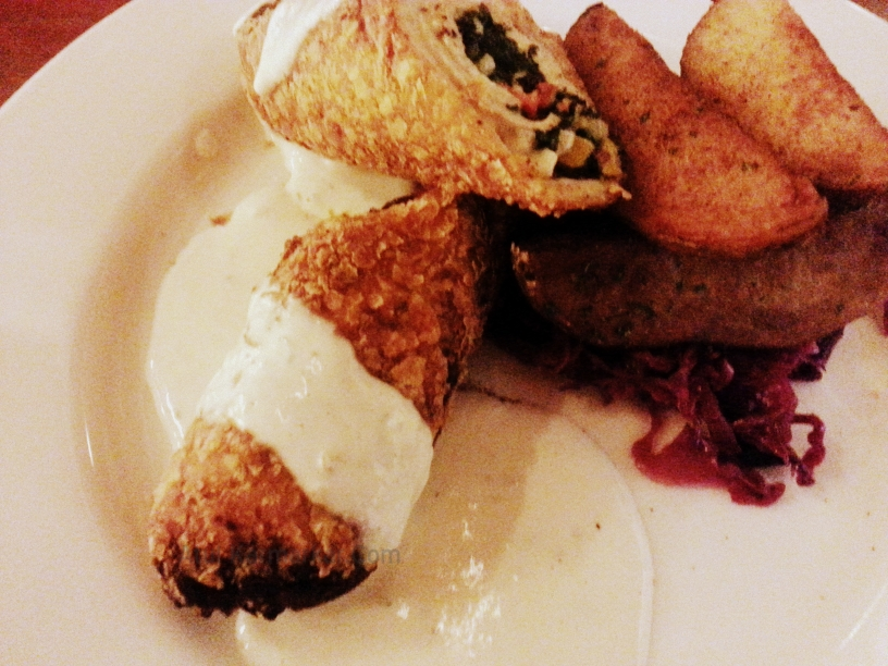 Mezzuna Stuffed Fried Chicken